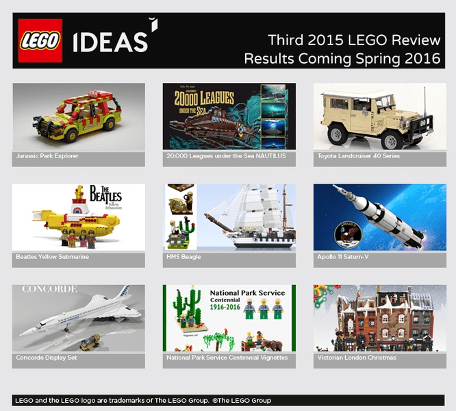 Lego Ideas 3rd 2015 Review – Who will Win?! [POLL]