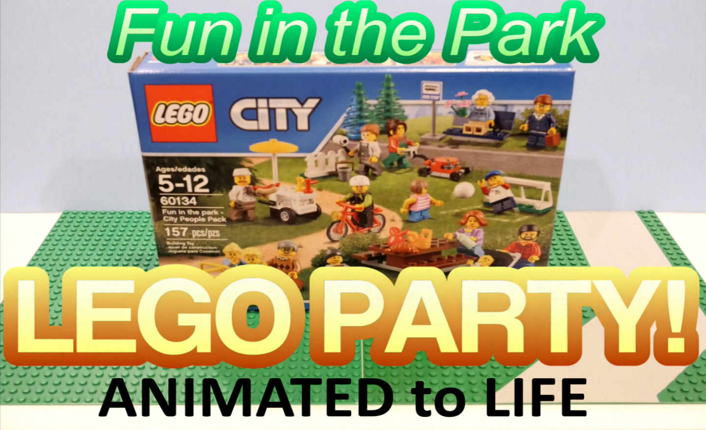 Fun in the Park – Lego 60134 Animation Dance Party and set Review