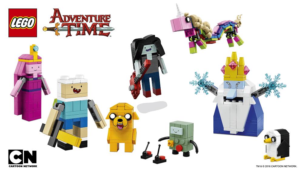 Lego Adventure Time: Ideas vs Dimensions