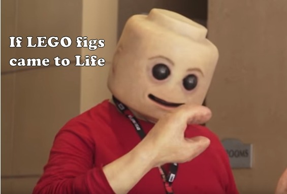 If Lego figs came to Life