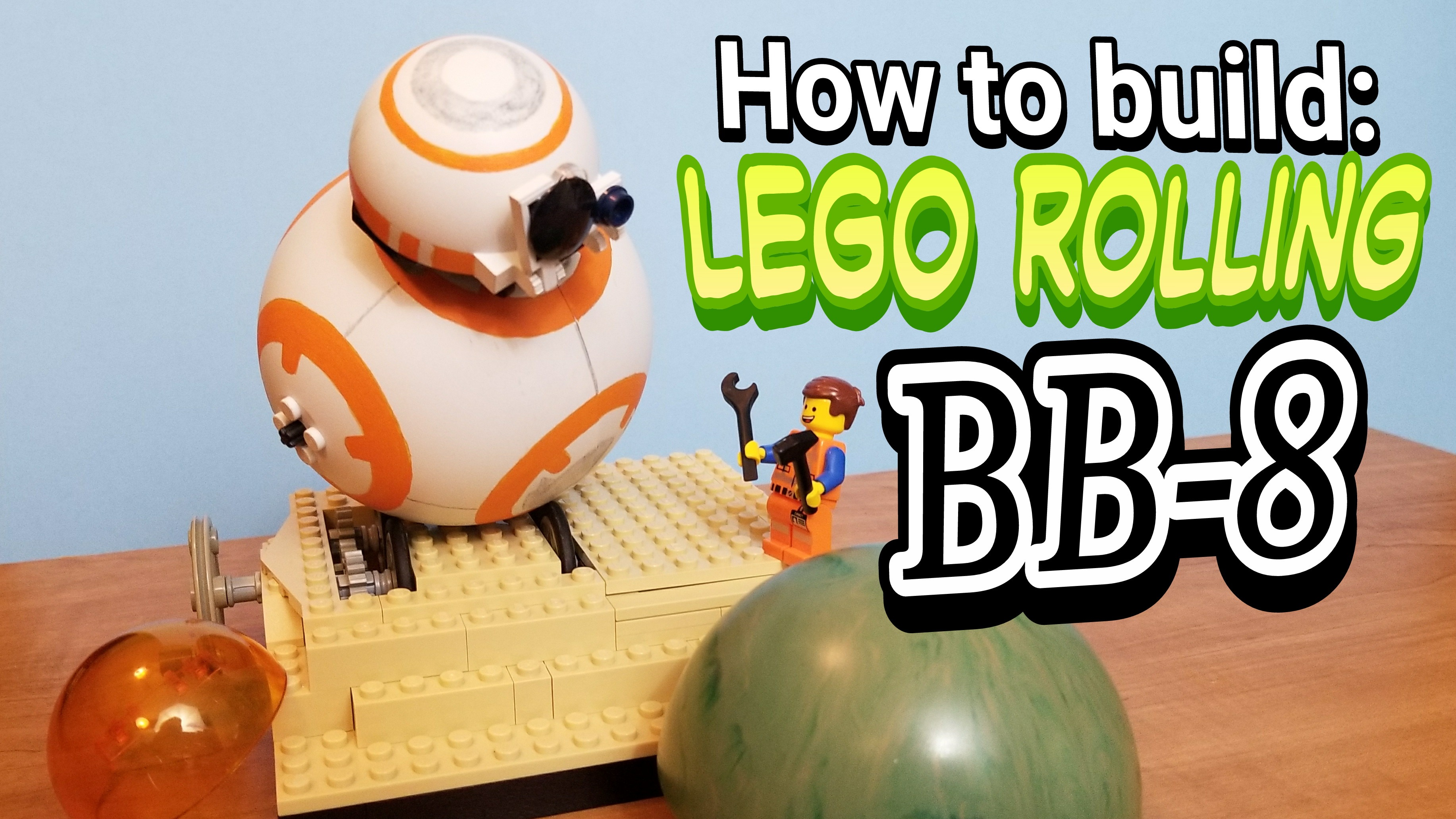 How to build a Lego Rolling BB-8