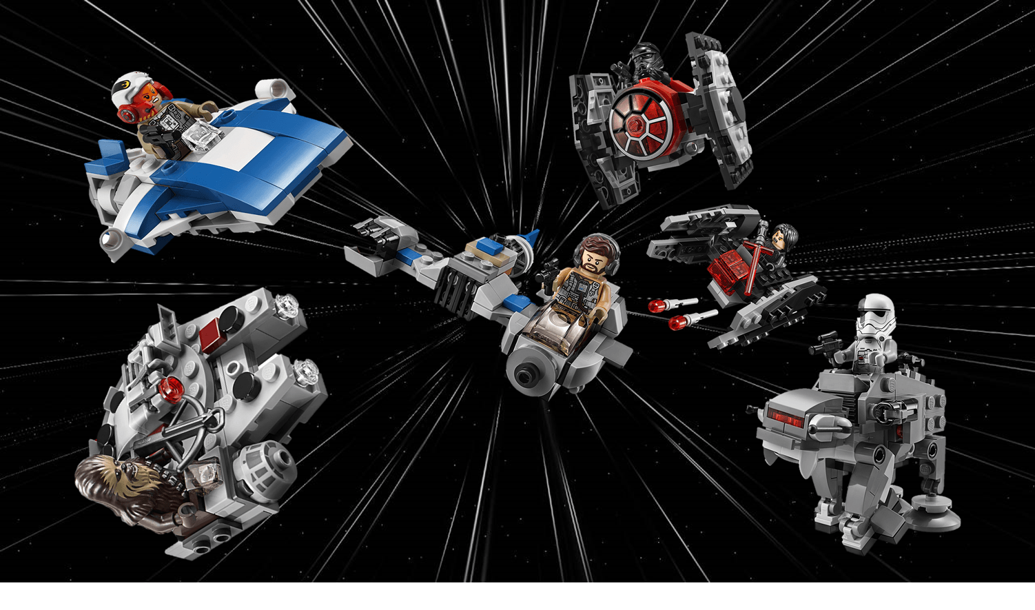 Lego Microfighters Series 4 Overview