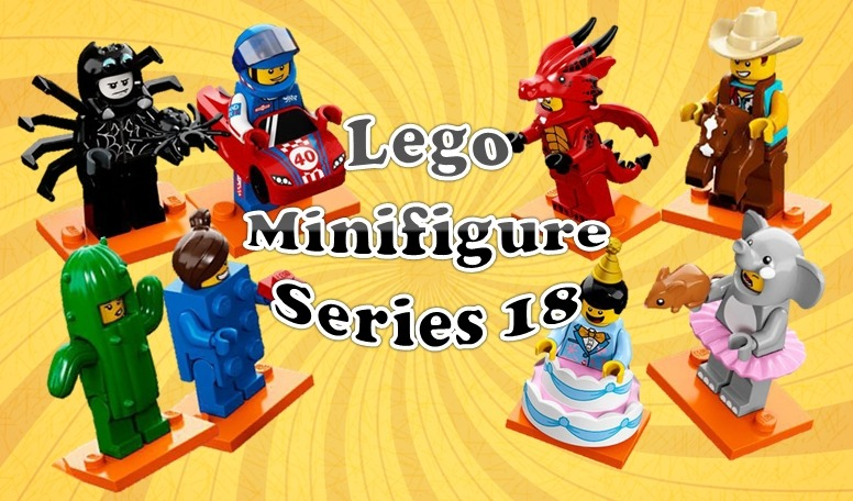 Lego Collectible Minifigure Series 18 Revealed