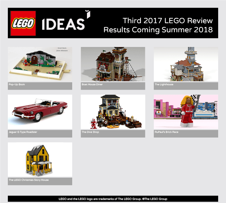 Lego Ideas 2017 Group 3 – Predictions and Ramblings | the FARQUAR