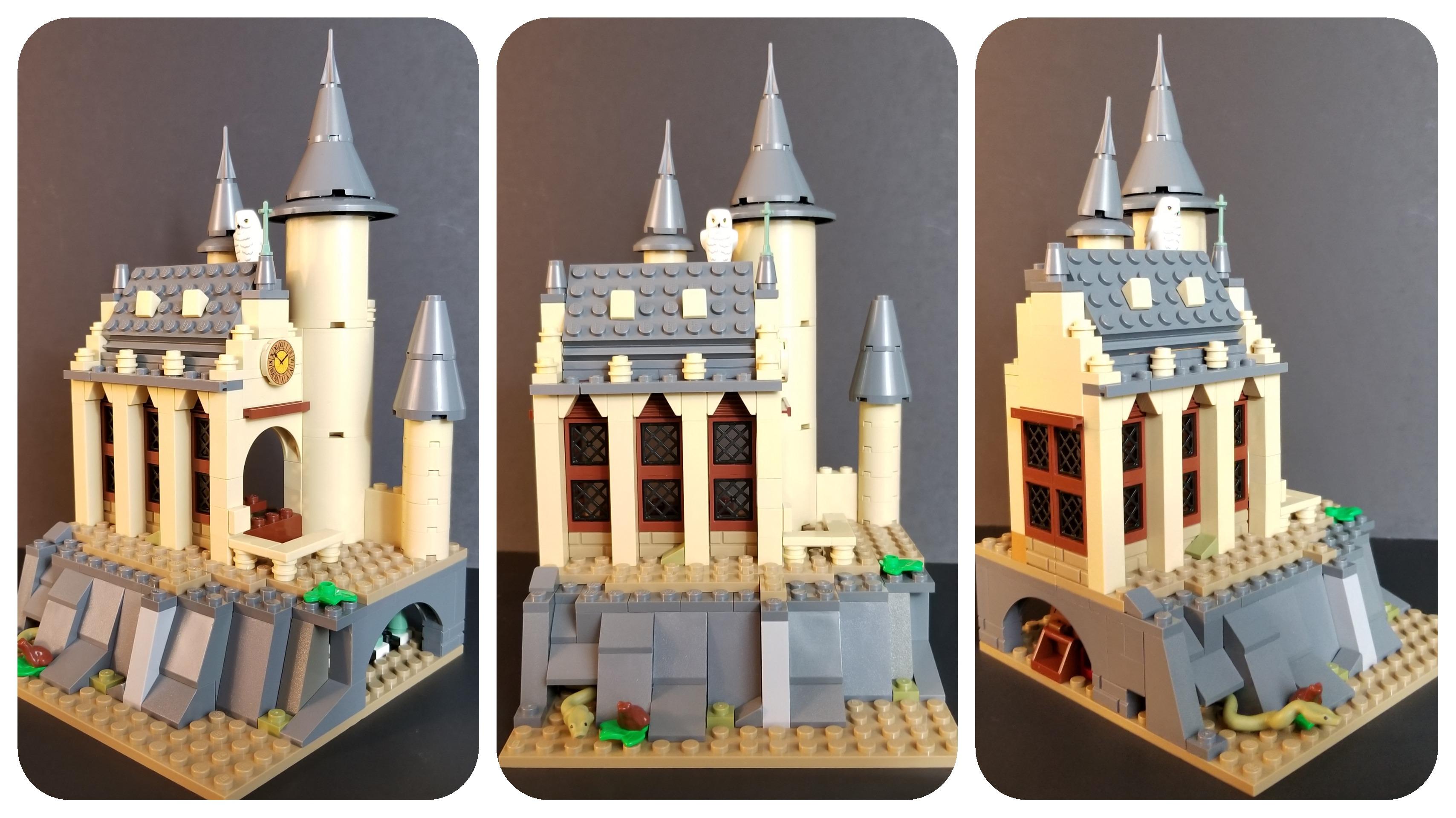 lego hogwarts 16 16 minifigure display castle the farquar. Black Bedroom Furniture Sets. Home Design Ideas