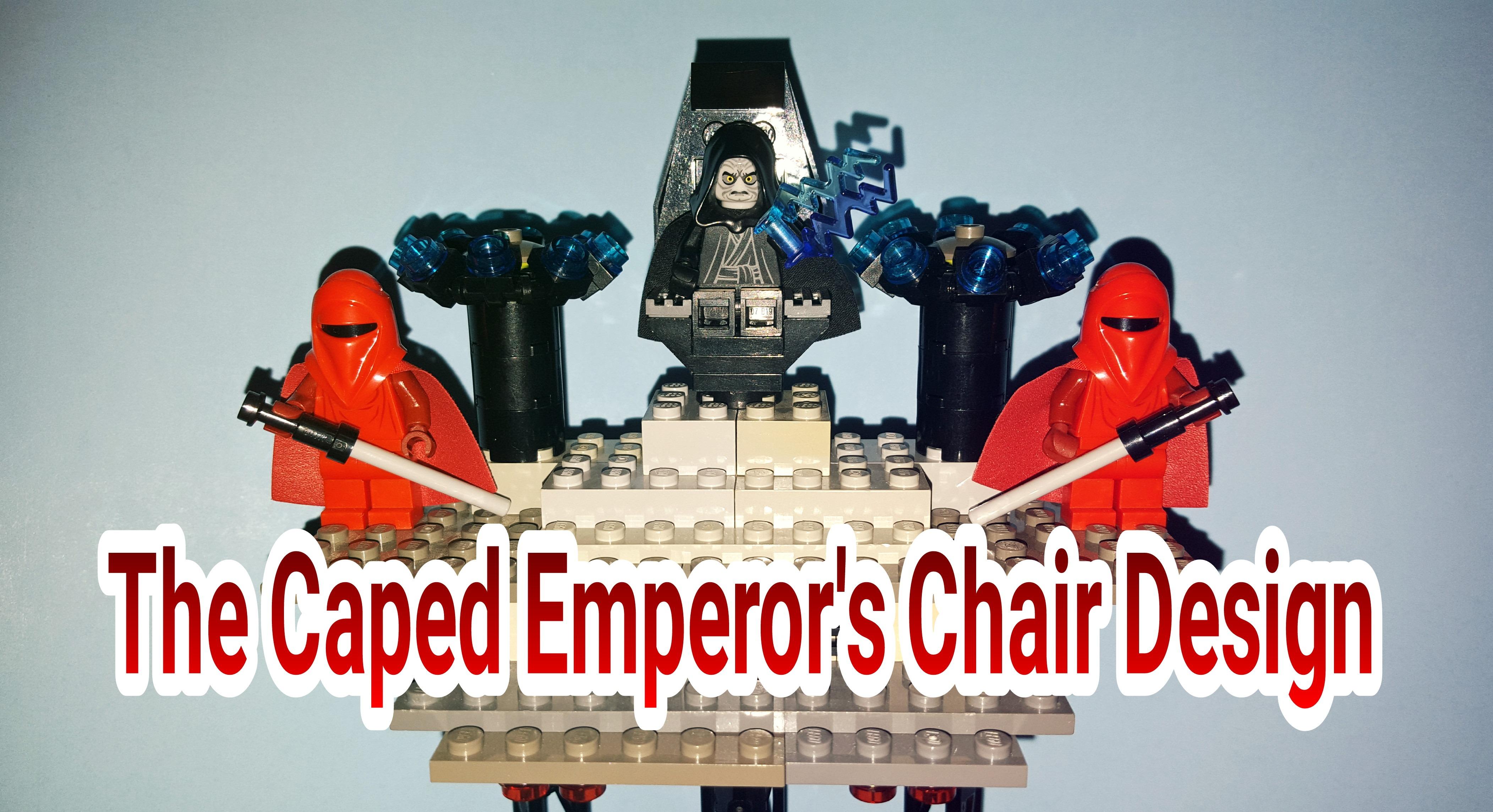 Building A Chair For Lego Emperor Palpatine That Doesn T